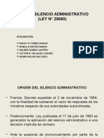 LEY DEL SILENCIO ADMINISTRATIVO.ppt