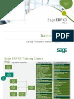 CB102 Sage ERP X3 V6 Functional Overview v1.1.3 Slides