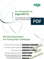 SageERPX3 Distribution