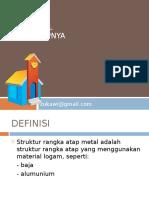 Struktur Atap Metal