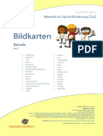 SF66a DaZ Material Grundschule Bildkarten Berufe