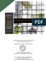 La Organización Espacial en El Nuevo Urbanismo