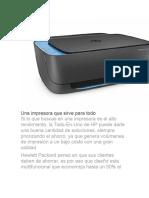 Una Impresora Que Sirve Para Todo -HP Ultra 4729