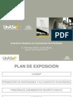 Incentivos Tributarios en La Promocion de Inversiones Durazno 291014