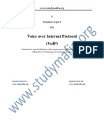 CSE VoIP Report