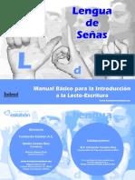 Manual Senas Lectoescritura