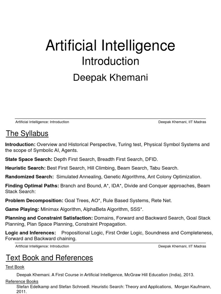 Artificial intelligence introduction technology artificial artificial intelligence introduction technology artificial intelligence fandeluxe Images