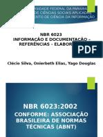 ABNT NBR 6023:2002