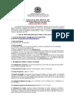 Edital 01.2016 Concurso João Xxiii Publicado No Dou Retificado Pelo Edital 03 e 04