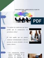 La Comunicación Efectiva (1)