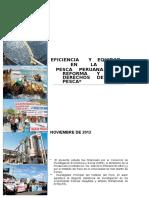 Eficiencia y Equidad en La Reforma de La Pesca en El Peru