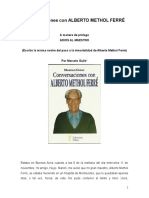 Conversaciones con ALBERTO METHOL FERRÉ