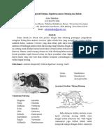 Anatomi Komparatif Sistema Digestivus Antara Musang Dan Kucing