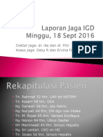 Lapjag IGD 18 Sept 2016 (Low Intake)