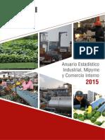 Anuario Estadistico Mype 2015
