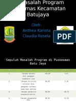 10 Masalah Program Pkm Batujaya