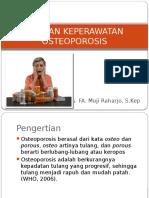 Asuhan Keperawatan Osteoporosis