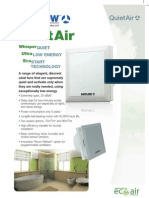 Introducing the Airflow QuietAir extractor fans