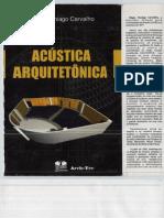 Acustica Arquitetonica Regio Paniago Carvalho