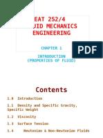 fluid mechanics (Chapter 1)