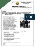 Ex Bim 4to Sec 3er Bim 2016 II.odt PDF