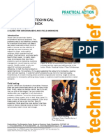 Assessing the Technical Problems of Brick Production