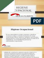 HIGIENE OCUPACIONAL-capacitacion Roca Fuerte