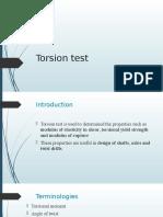 Torsion Test