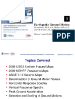 P-752_Unit 3_Earthquake Ground Motion