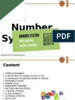 19848_Number System Ppt