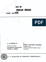Fundamentals of Ancient Indian Music and Dance