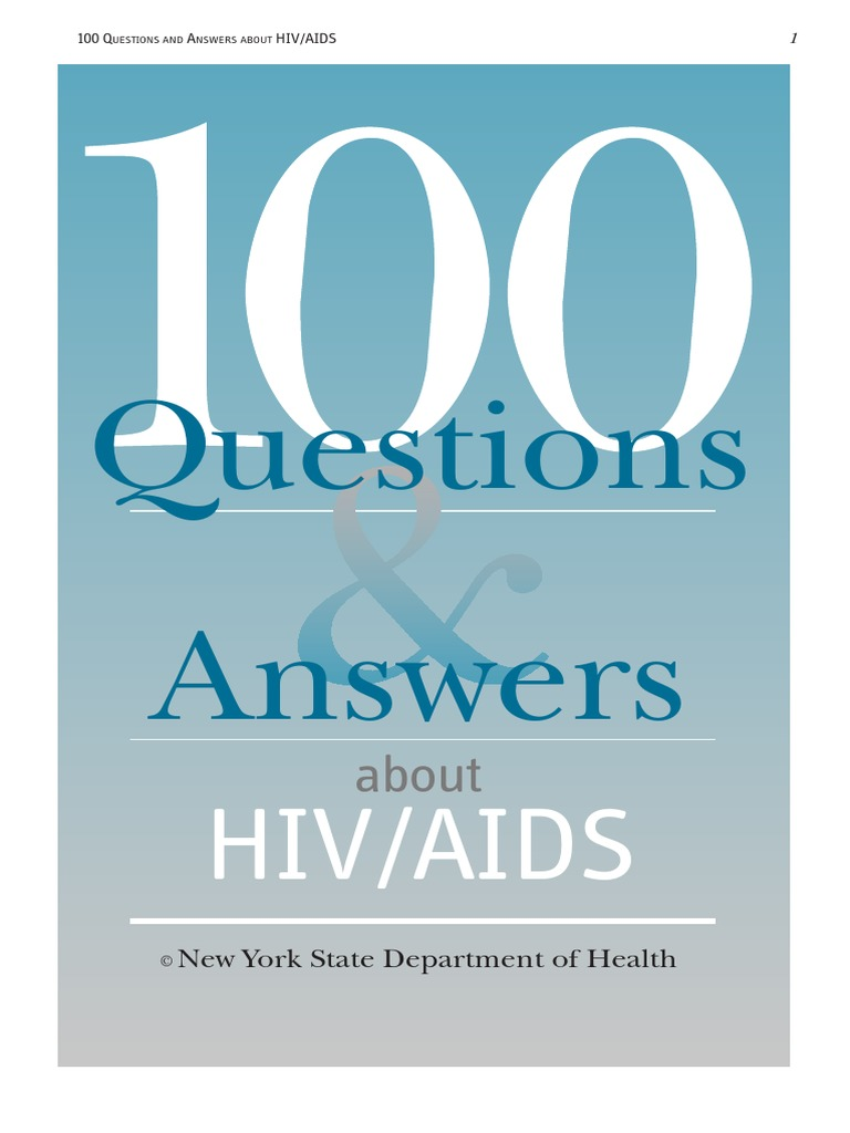 100 Questions and Answers to HIV   Sexually Transmitted Infection   Condom