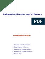 Automotive Sensors & Actuators