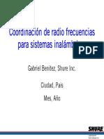 Coordinacion RF
