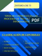 Semana 4 Tipos de Controles y Proceso Auditoría
