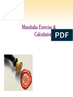 Murabaha - Exercise & Calculations Ahmed Ali