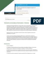 Curso Dimensión Sociocultural de La Inmigración_ España en El Contexto Global 15 Dic 2015 250euros