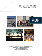 Student Arrival Guide 2006