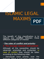 Islamic Legal Maxims