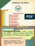 Paragraf Kelompok 7 Bahasa Indonesia