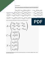 Métodos de Solución de Sistemas de Ecuaciones Diferencialeslineales
