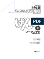 Genki an Integrated Course in Elementary Japanese Workbook II Second Edition