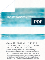 Deuteronomy Outline Slides