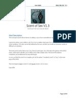 Scent of Sex V1.3 User Guide