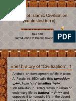 Origins of Islamic Civilization