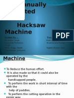 Hacksaw Project Ppt by Yogesh