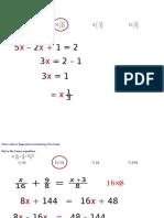 Math 140 Final Revision