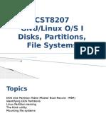 710 Linux Partitions