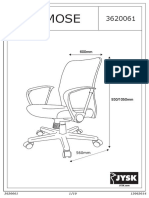 asamblare scaun