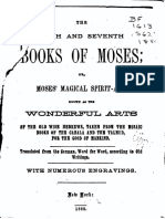 1880 the Sixth and Seventh Books of Moses Fac Best